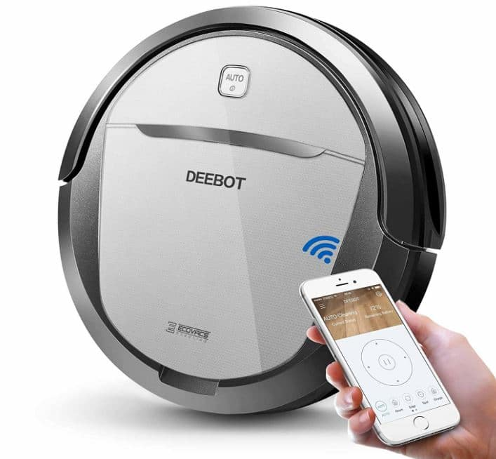 The Ecovacs Deebot M80 Pro Robot Vacuum Cleaner (Review)