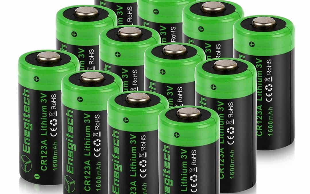 CR123A Battery Rechargeable | Primary and Rechargeable Lithium RCR123A, 16340 Batteries